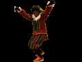 het_land_van-Sinterklaas_ Zwarte Piet kostuum Fluweel