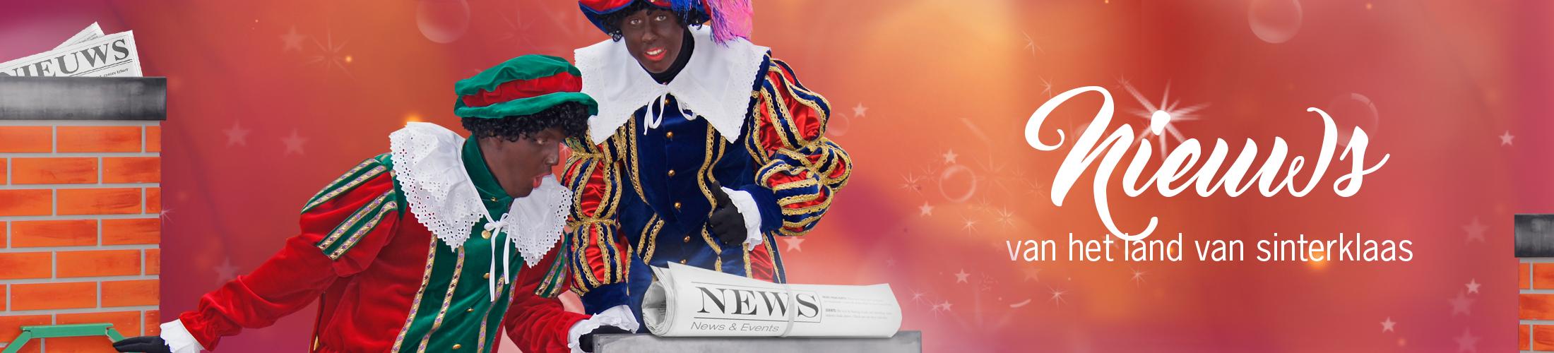 Het land van Sinterklaas nieuws zwart piet