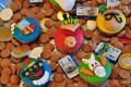 Kinderentertainment, het land van sinterklaas , cupcake versieren, zwarte piet cupcake